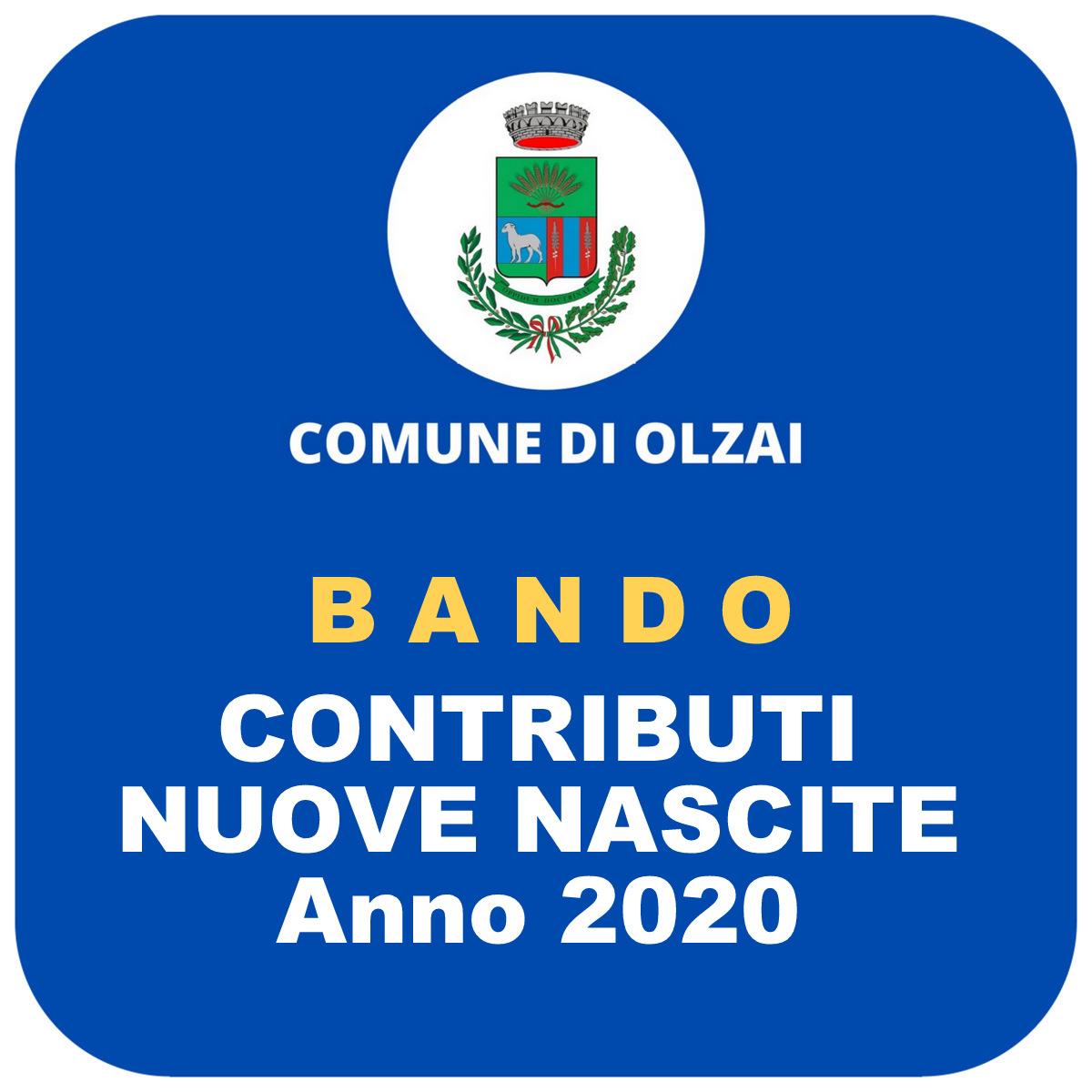 GRADUATORIA DEFINITIVA BANDO CONTRIBUTI NUOVE NASCITE E NUOVE ADOZIONI 2020