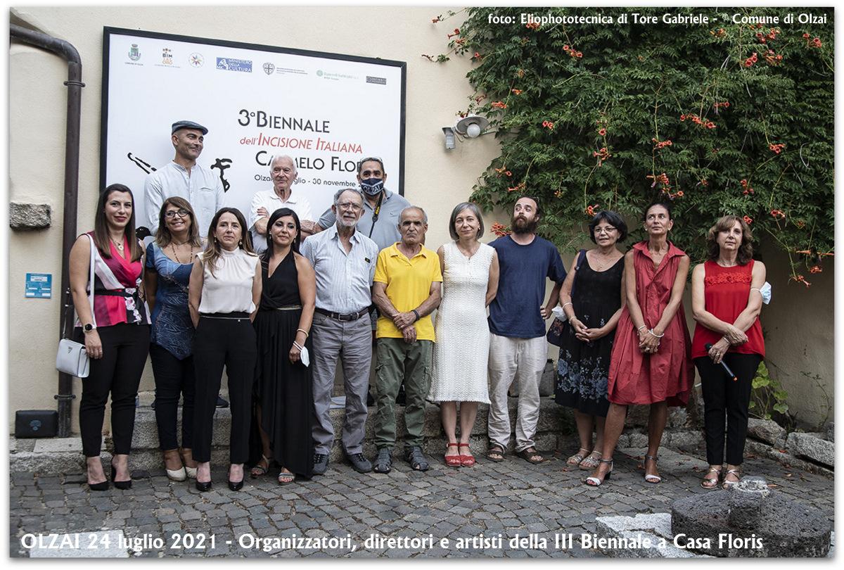 III Biennale: grande successo per l'inaugurazione della mostra a Casa Floris