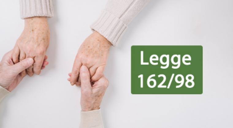 PIANI DI SOSTEGNO ALLE PERSONE CON GRAVI DISABILITA' – L.R. n 162/1998