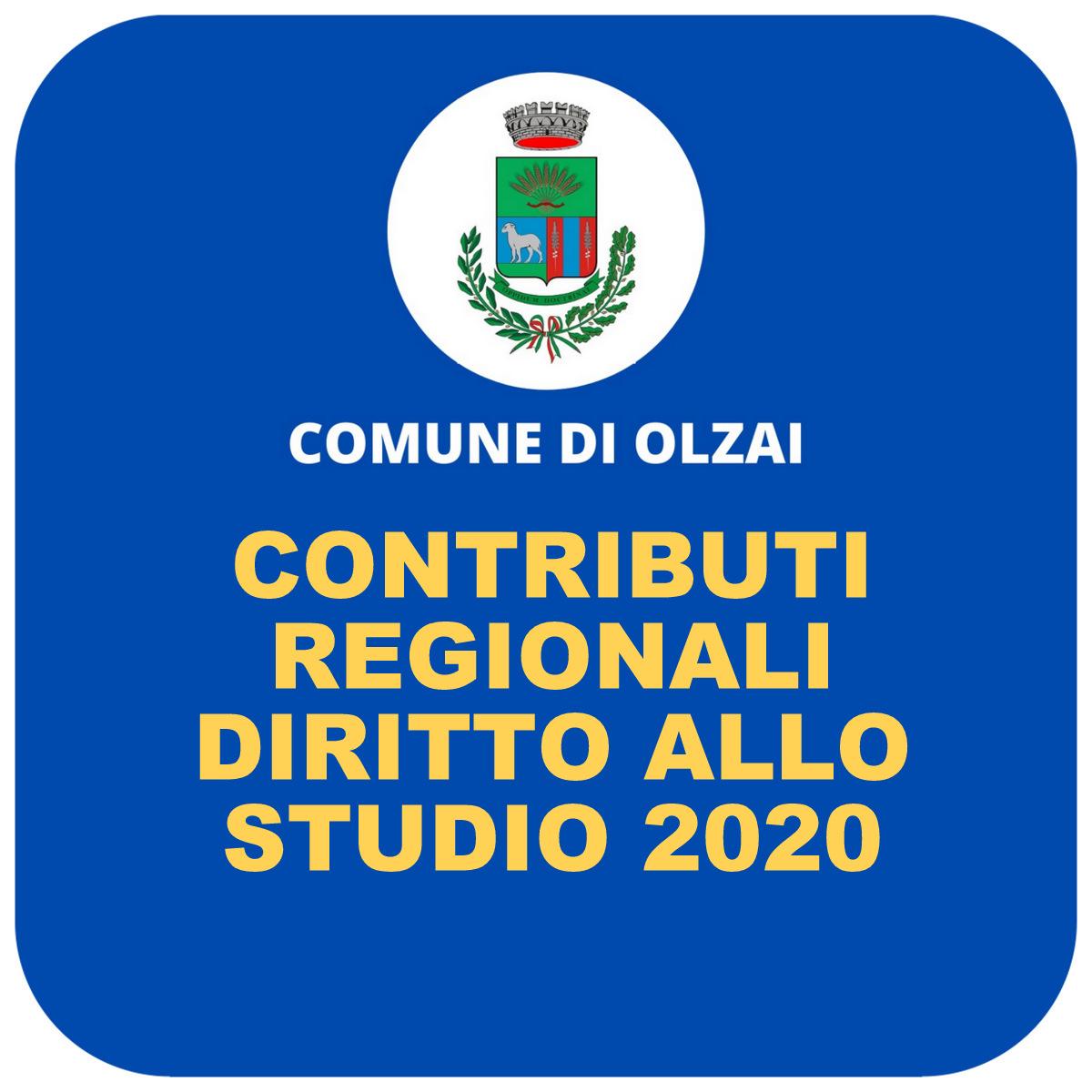 CONTRIBUTI DIRITTO ALLO STUDIO 2020 - GRADUATORIA PROVVISORIA